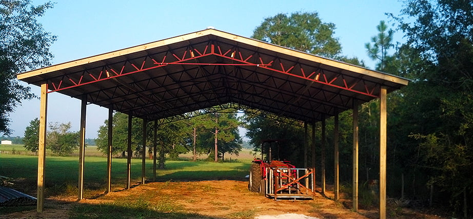 Pole Barn Truss Systems: : Gable, Lean To, and Gambrel trusses